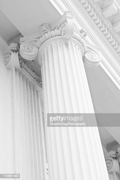 Ionic Column Classic Greek Architecture