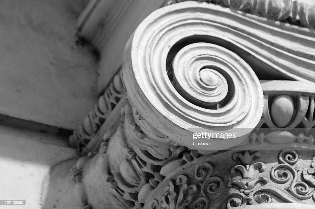 ionic column : Stock Photo