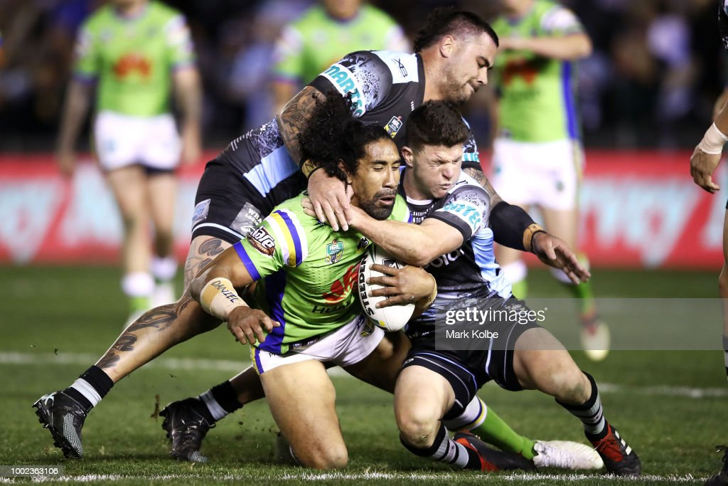 NRL Rd 19 - Sharks v Raiders