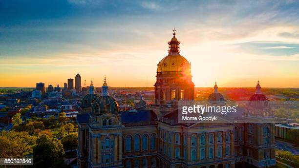 Iowa Capitol Sunset