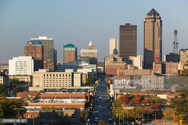 USA, Iowa, Des Moines, cityscape