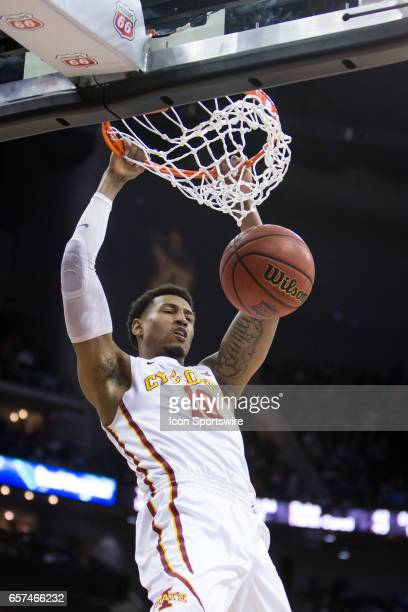 Iowa State Cyclones forward Darrell Bowie during the Big 12 Tournament semifinal game between the TCU Horned Frogs and the Iowa State Cyclones on...