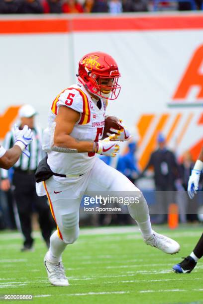 Iowa State Cyclones wide receiver Allen Lazard during the AutoZone Liberty Bowl game between the Memphis Tigers and the Iowa State Cyclones on...