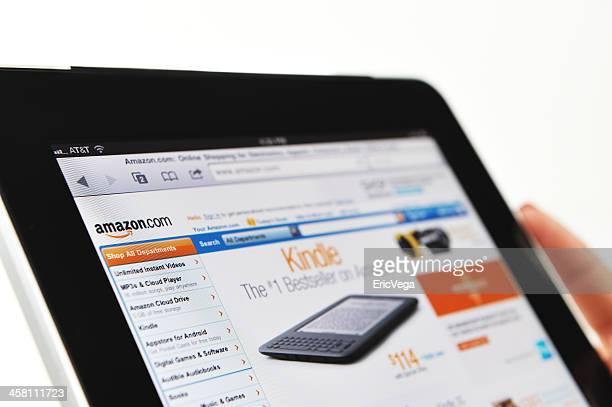 iPad affichage Site Amazon.com