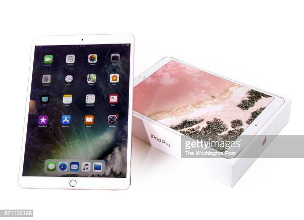 iPad Pro one of the items for the Post's annual gift guide on October 2017 in Washington DC