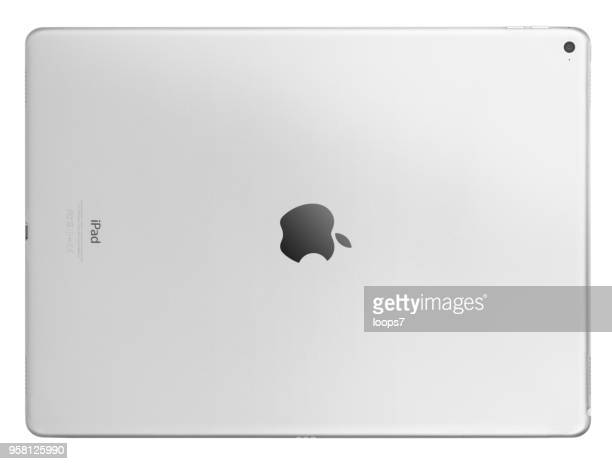 ipad pro rear view - loops7 stock photos and pictures