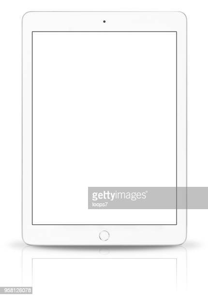 ipad pro with blank screen - loops7 stock photos and pictures