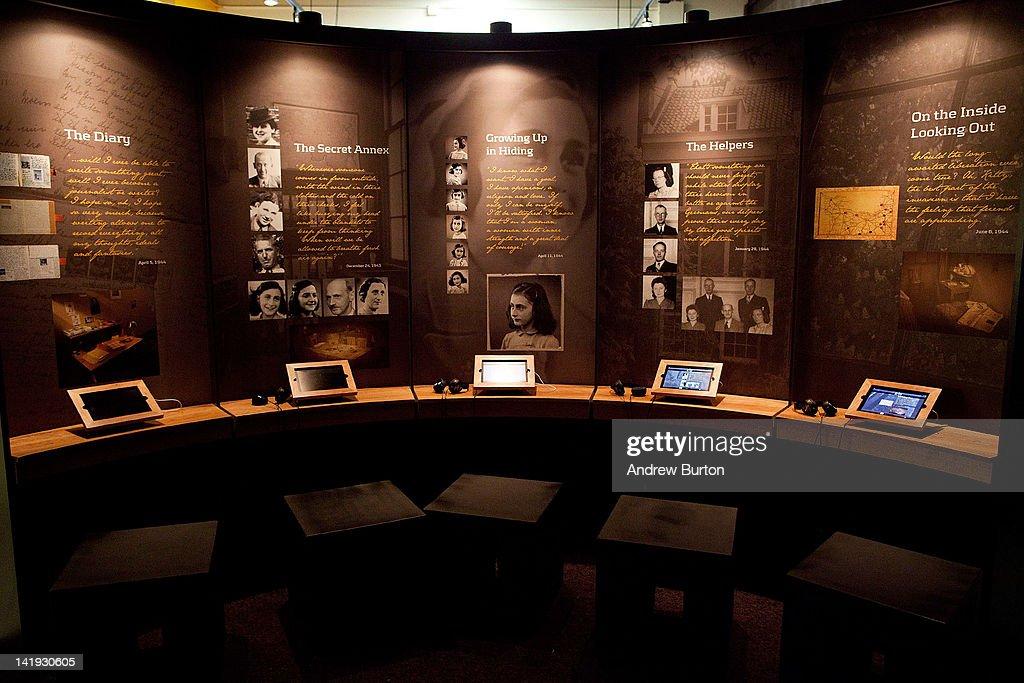 Anne Frank Center USA Opens 3 Blocks From World Trade Center Site : News Photo