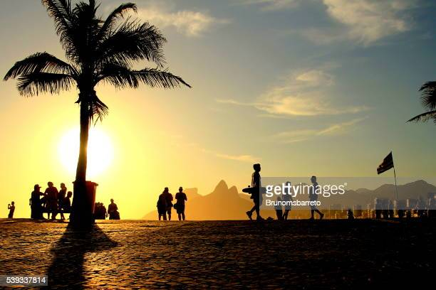 Ipanema sunset