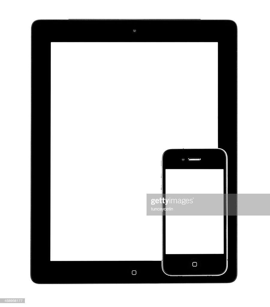 iphone 5 ipad 2 で空白の画面 ストックフォト getty images