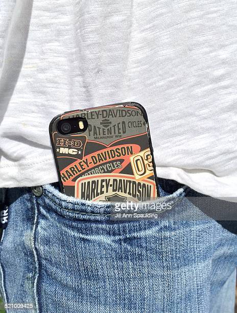 iPhone 5 in Mans front Pocket of Jeans