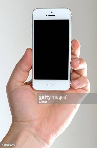 iphone 5 - siri mobile app stock pictures, royalty-free photos & images