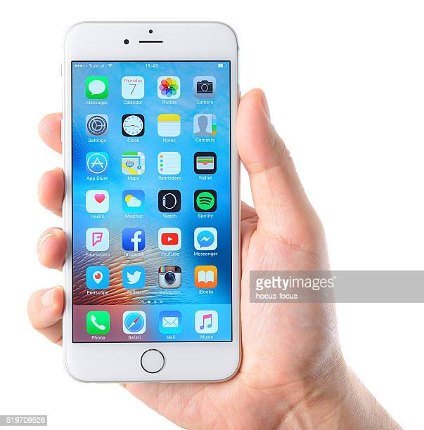 iPhone 6 Plus smart phone on hand