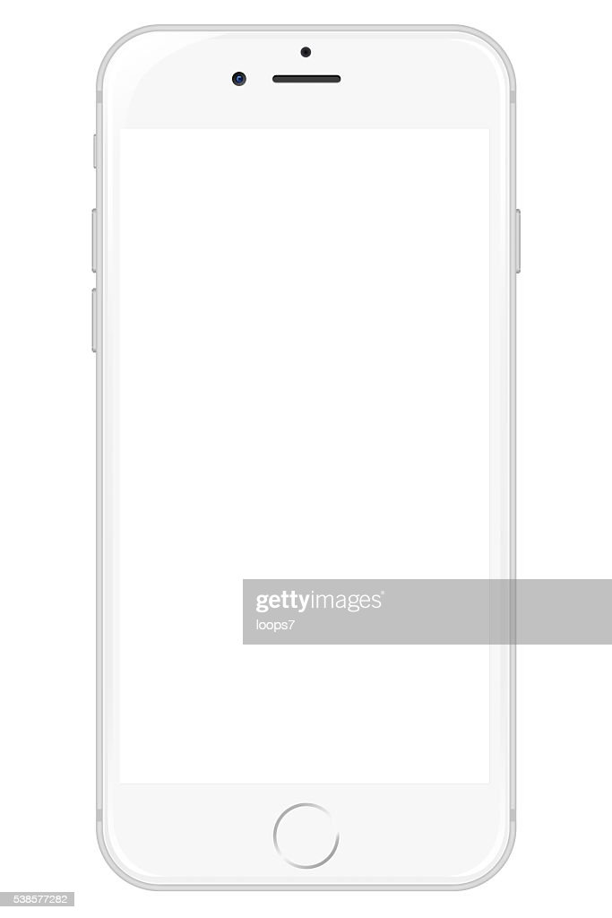 IPhone 6 - White : Stock Photo