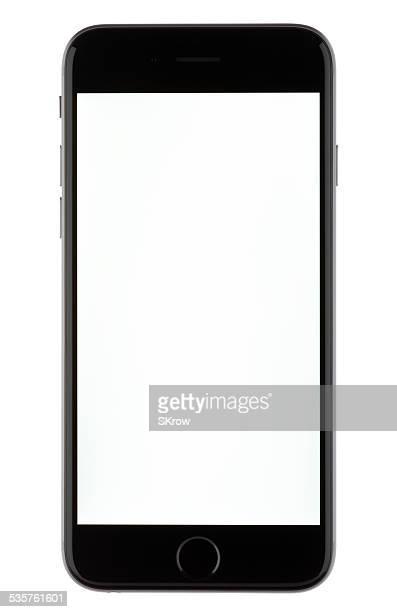 iPhone 6 con una pantalla en blanco