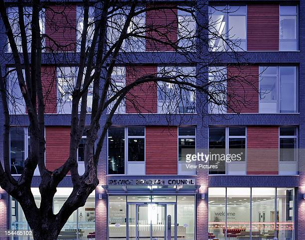 Ipswich Council Hq, Ipswich, United Kingdom, Architect Consarc Consulting Architects Ipswich Council Hq Overall Exterior View