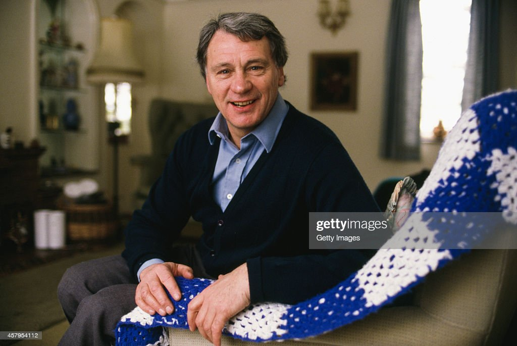 Ipswich Town manager Bobby Robson pictured at home circa 1980.