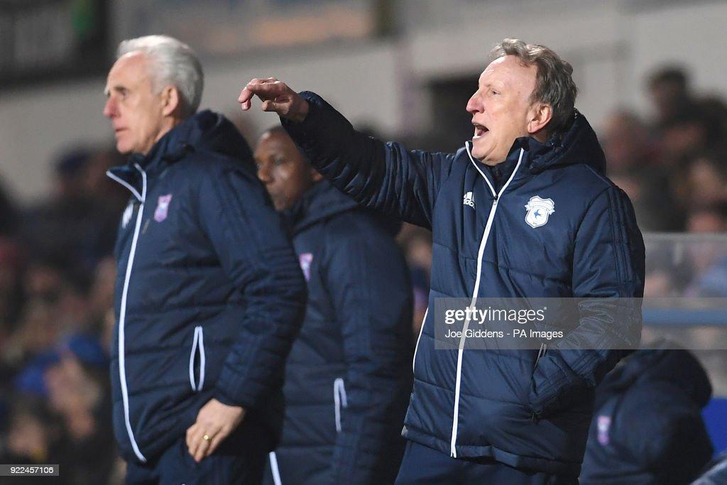 Ipswich Town v Cardiff City - Sky Bet Championship - Portman Road : Nachrichtenfoto