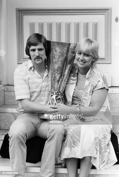 Ipswich Town, morning after winning UEFA Cup. Frans Thijssen The 2nd leg match of UEFA Cup Final between AZ Alkmaar v Ipswich Town was held at the...