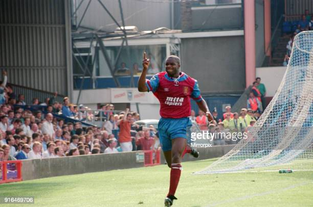 Ipswich Town v Aston Villa final score 11 Premier League Portman Road Ipswich Pictured is Dalian Atkinson of Aston Villa 15th August 1992