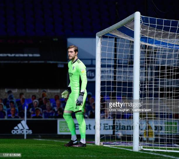 Ipswich Town's Tomas Holy during the Sky Bet League One match between Ipswich Town and Lincoln City at Portman Road on March 9, 2021 in Ipswich,...