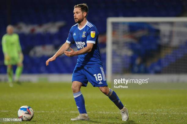 Ipswichs Alan Judge during the Sky Bet League 1 match between Ipswich Town and Burton Albion at Portman Road, Ipswich on Tuesday 15th December 2020.
