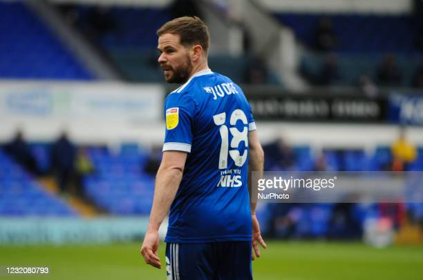 Ipswichs Alan Judge during the Sky Bet League 1 match between Ipswich Town and Bristol Rovers at Portman Road, Ipswich on Friday 2nd April 2021.
