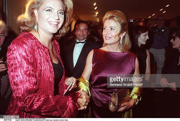 Ira De Furstenberg and Catherine Deneuve at theChildren Of Africa Gala Performance In Paris