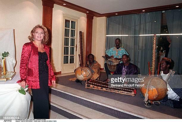 Ira De Furstenberg at theChildren Of Africa Gala Performance In Paris