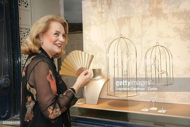 Ira de Furstenberg attends the 'Diamonds Women' Chaumet exhibition