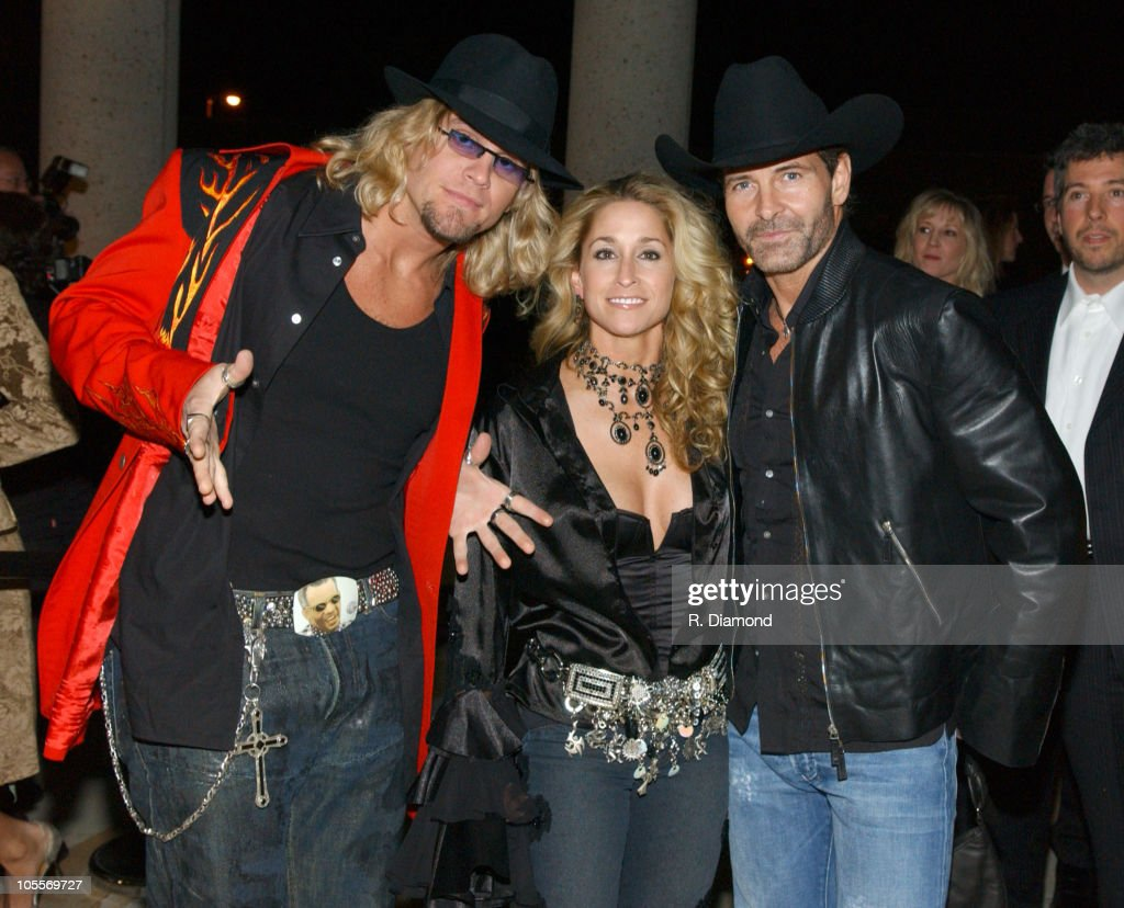 Ira Dean, Heidi Newfield and Keith Burns of Trick Pony