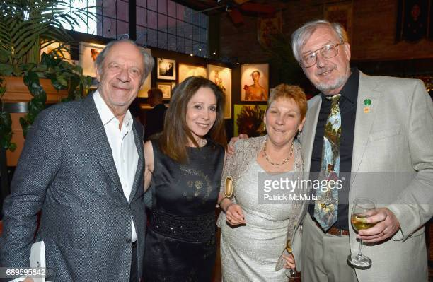 Ira Drukier Gale Drukier Dr Carol Conroy and Andrew Rhodin attend The Turtle Conservancy's 4th Annual Turtle Ball at The Bowery Hotel on April 17...