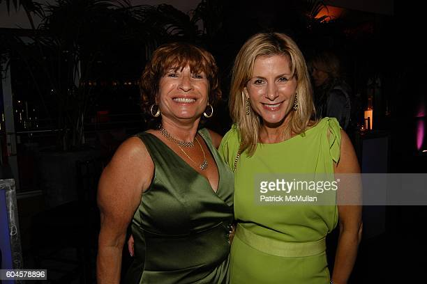 Ira Garin and Lisa Herbert attend LARRY HERBERT'S 50th Anniversary of PANTONE at Hotel Gansevoort Rooftop on June 14 2006 in New York City