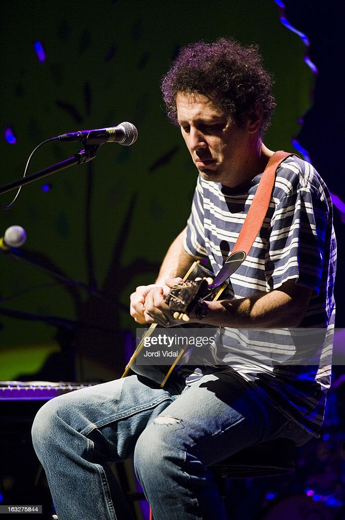 Ira Kaplan of Yo La Tengo performs on stage during Festival del Mil.lenni at L'Auditori on March 6, 2013 in Barcelona, Spain.