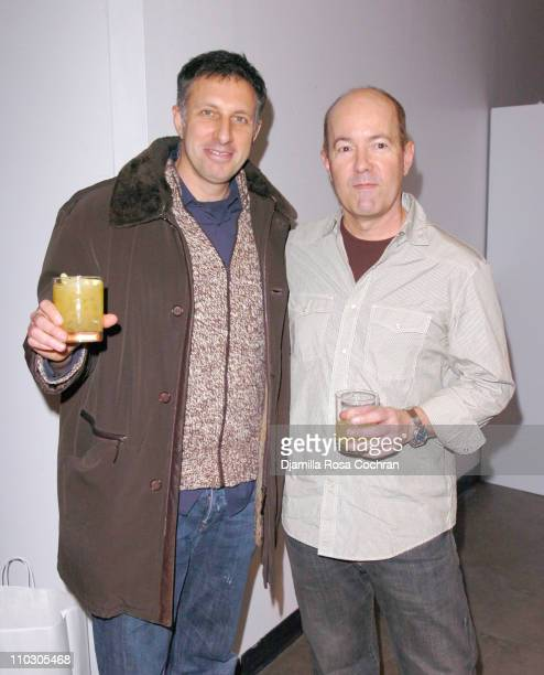 Ira Levy and Doug Wright during MercedesBenz Fashion Week Fall 2007 Adam Eve Presentation Sponsored by Gran Centenario Tequila at Jane Street Studios...