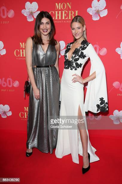 Ira Meindl and Mandy Bork during the Mon Cheri Barbara Tag at Postpalast on November 30 2017 in Munich Germany