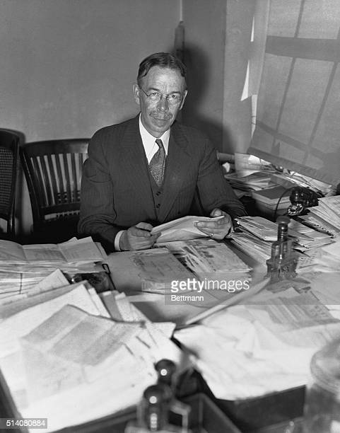 Ira Smith found his duties as Chief of the White House Mail Room increased enormously when Franklin Roosevelt became President