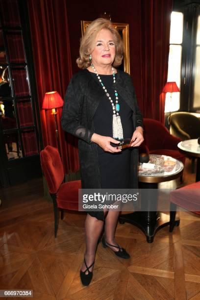 Ira von Fuerstenberg attends her reception at 'Hotel Sacher' during the Easter Festival on April 10 2017 in Salzburg Austria