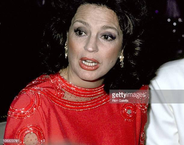 Ira Von Furstenberg during 1985 Best Awards Dinner Dance at Pierre Hotel in New York City New York United States