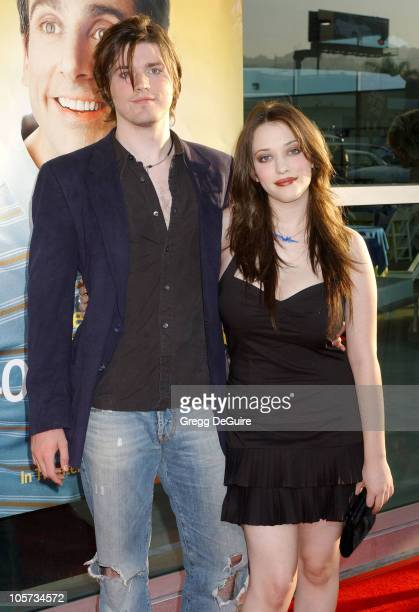 "Ira Wood and Kat Dennings during ""The 40-Year-Old Virgin"" Los Angeles Premiere - Arrivals at ArcLight Theatre in Hollywood, California, United States."