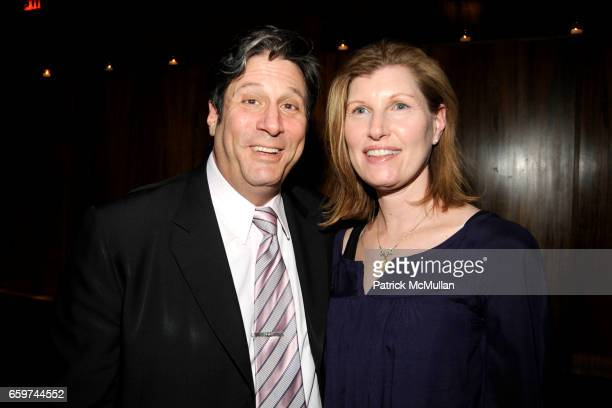 Ira Yoffe and Beth Yoffe attend PARADE MAGAZINE and SI Newhouse Jr honor Walter Anderson at The 4 Seasons Grill Room on March 31 2009 in New York City