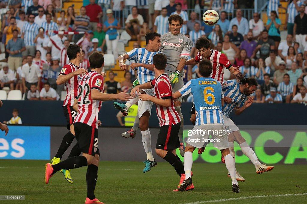 Malaga CF V Athletic Club de Bilbao - La Liga : News Photo