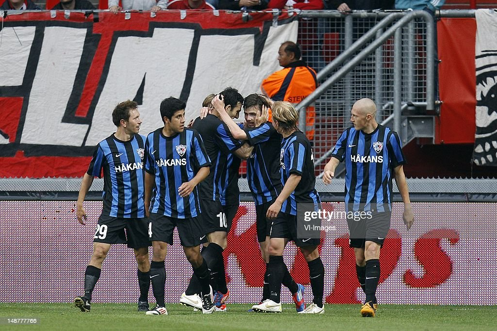 Europa League Playoff - FC Twente v Inter Turku : News Photo