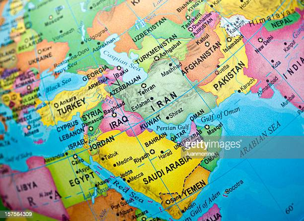 Iran and surrounding countries