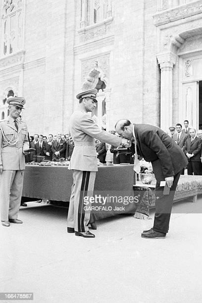 Announcement And Birth Of Cyrus Reza Pahlavi Téhéran 7 Novembre 1960 Lors de la naissance du Prince Reza Cyrus PAHLAVI fils du Shah d'Iran et de...