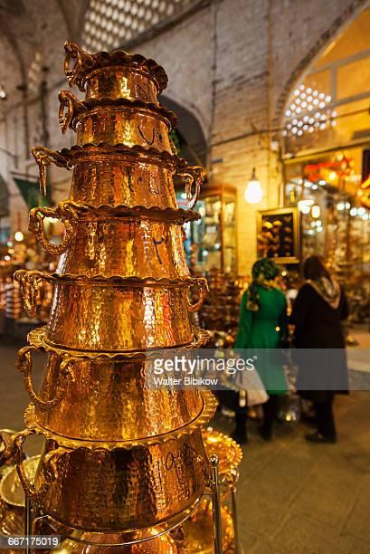 iran, central iran, detail - エスファハーン グランドバザール ストックフォトと画像