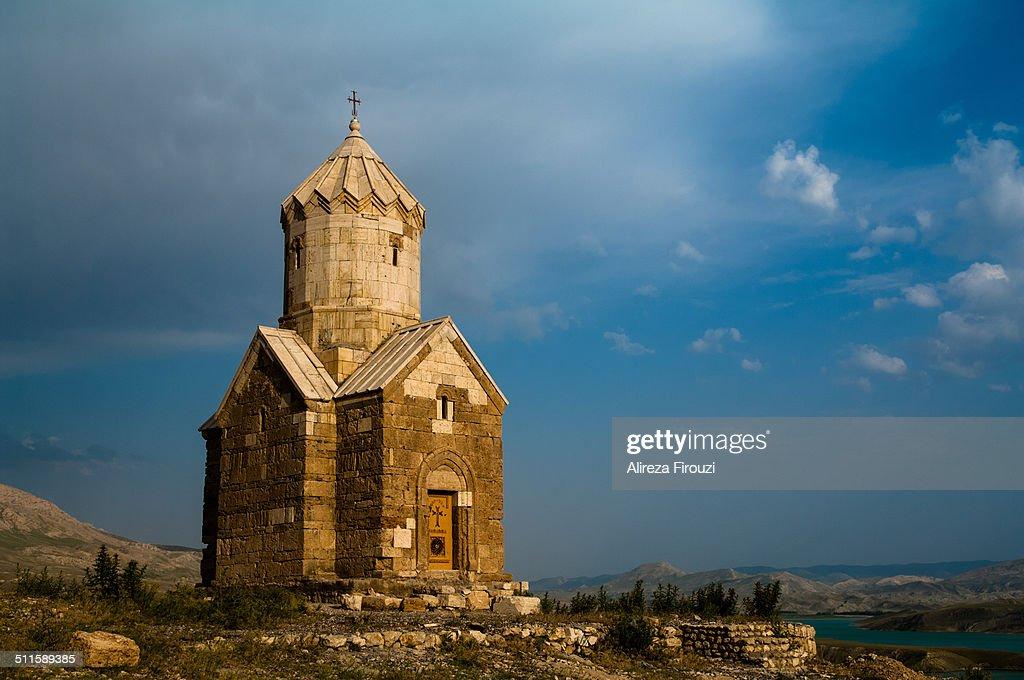 Iran, Dzor Dzor Armenian church : Stock Photo