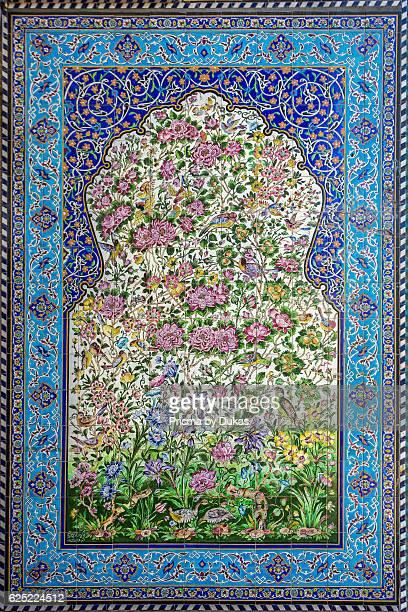 Iran Esfahan City Masjede Jame UNESCO MOSAIC