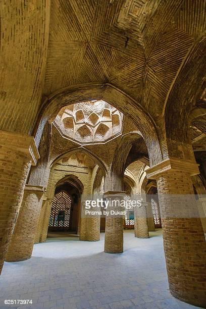 Iran Esfahan City Masjede Jame UNESCO world heritage Prayer Hall