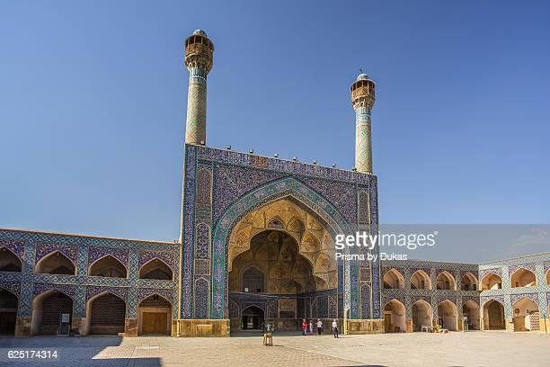 Iran Esfahan City Masjede Jame UNESCO world heritage South Iwan